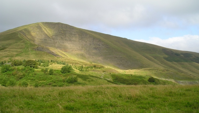 Mam Tor, the 'Shivering Mountain'