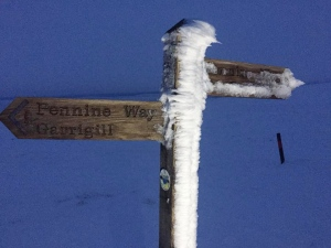 Winter on the Pennine Way