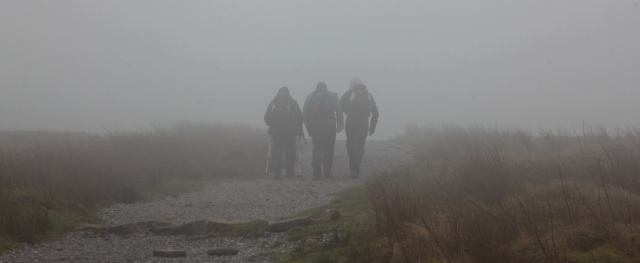 …. on a misty, moisty morning