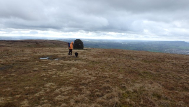 The big beehive cairn ….