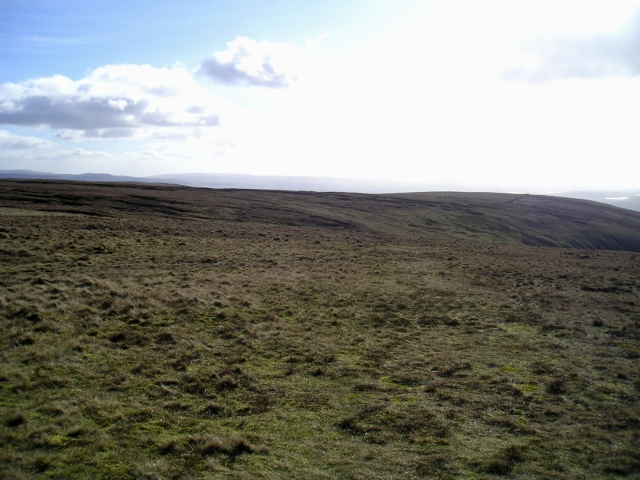 Wide expanses of …. nothing!