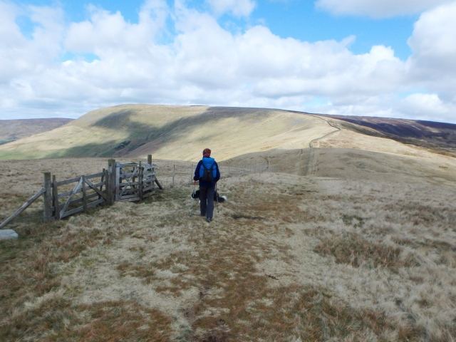 The ridge from Parlick to Fairsnape