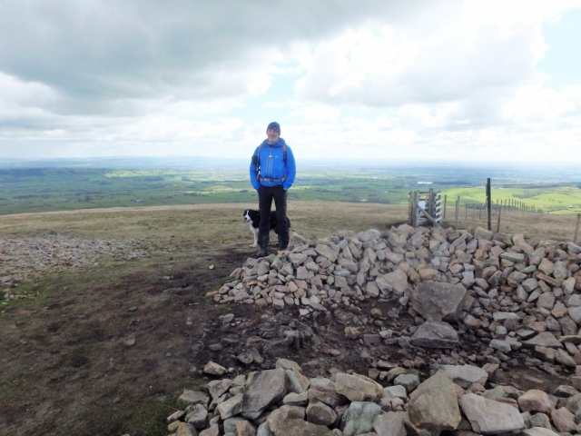 …. and finally at the summit