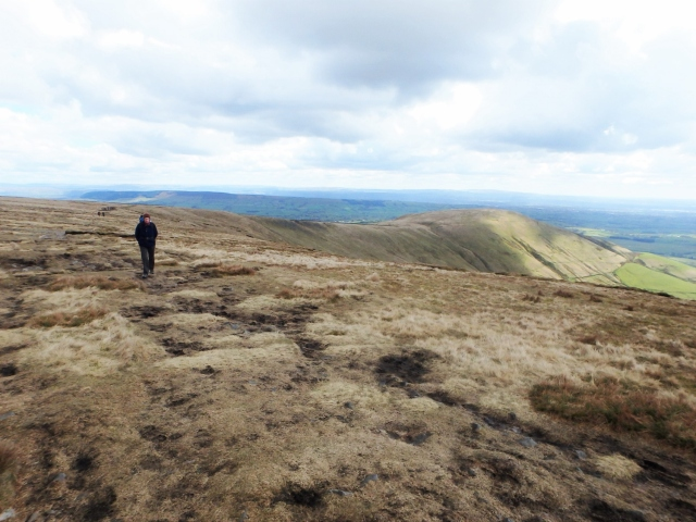 Looking back to Parlick