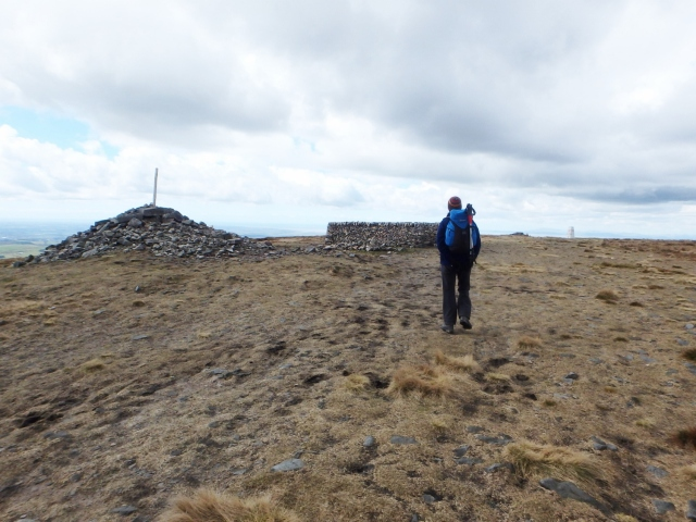 The summit of Fairsnape (510 metres)