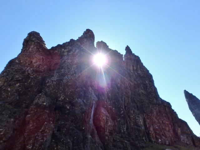 The rock window