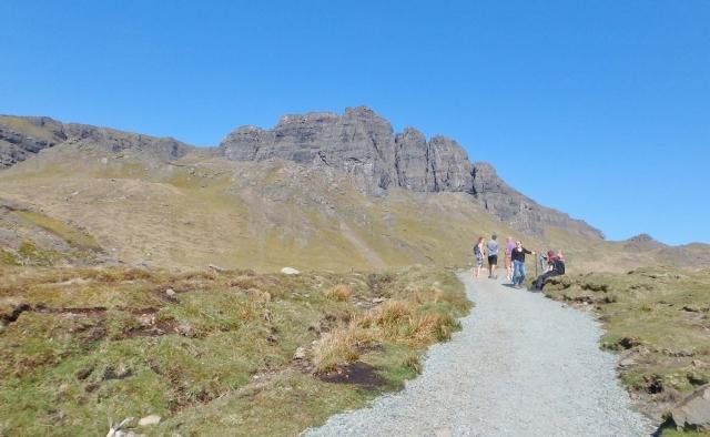 Storr Rocks ahead