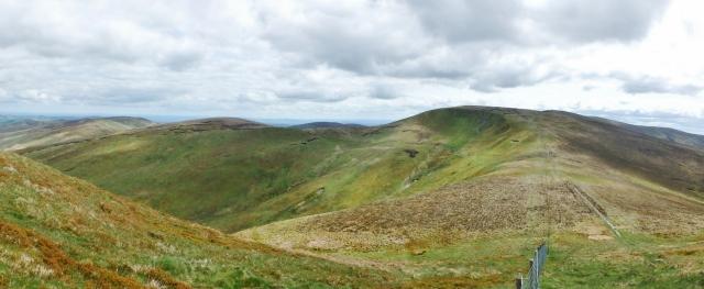 Cadair Bronwen in the Berwyns