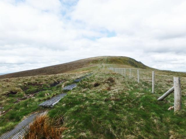 …. but it's still more uphill to Cadair Bronwen