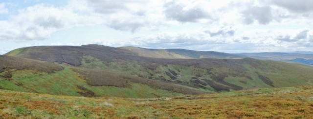 Final view back to the main Berwyn Ridge ….