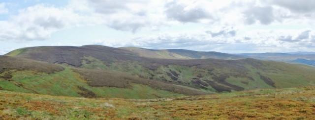 Final view back to the main Berwyn Ridge ….