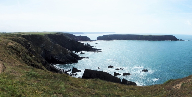 First view of Gateholm Island