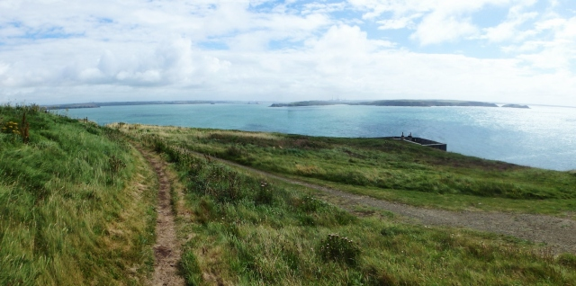 The view into Milford Haven from the West Blockhouse