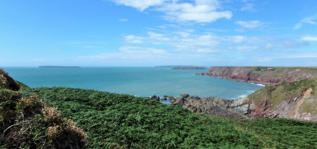 Welshman's Bay from the Coastal Path