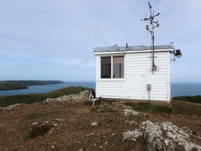 Old Coastguard lookout station at Wooltack Point