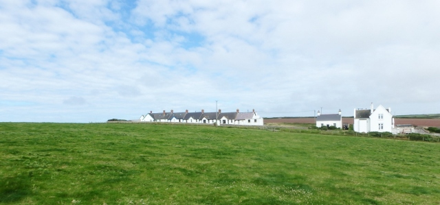 Coastguard Cottages at St Ann's