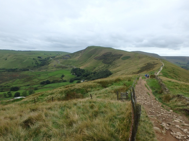 Mam Tor from the Great Ridge