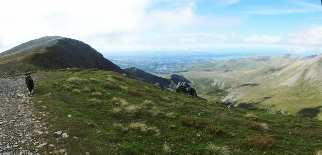 …. before heading on to Carnedd Dafydd