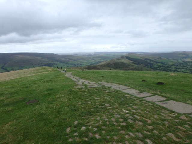 Past the summit, heading for the Great Ridge ….