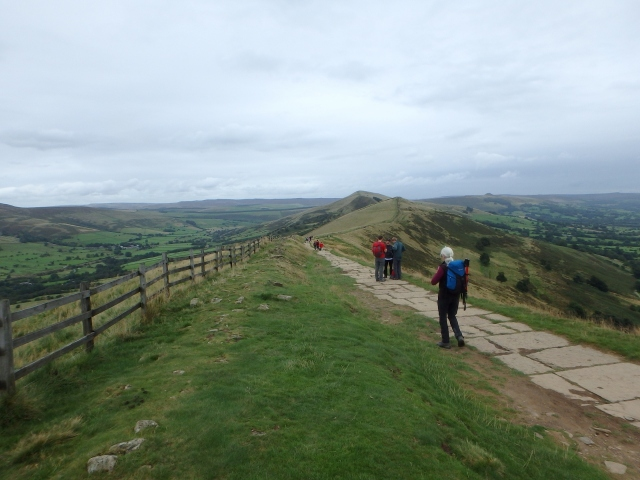 …. and on to Hollins Cross