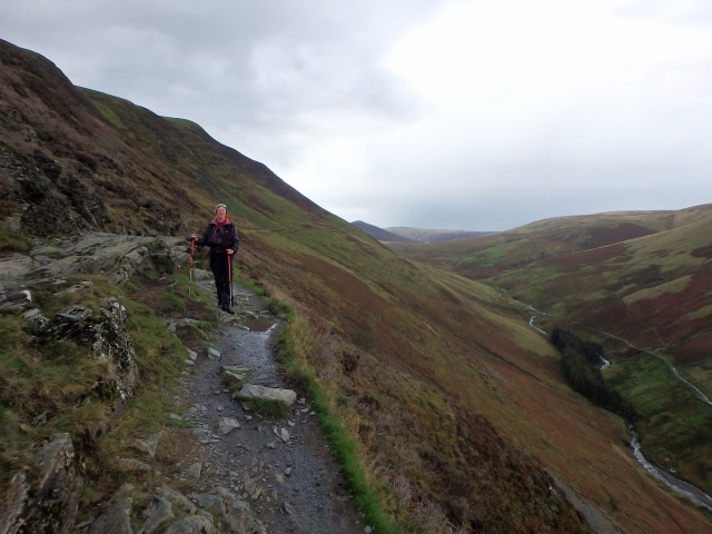 …. passing through Lonscale Crags