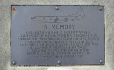 The memorial plaque © Geotek