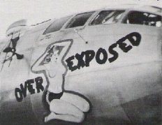 "B-29 Superfortress, ""Overexposed"""
