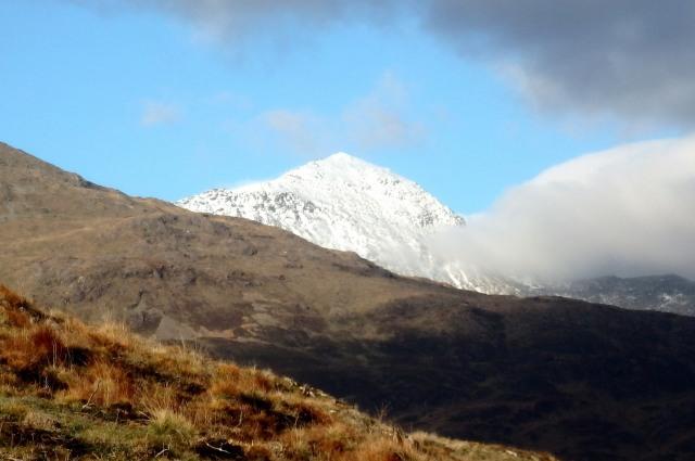 The view across to Yr Wyddfa (Snowdon) on the Beddgelert walk (post #213)