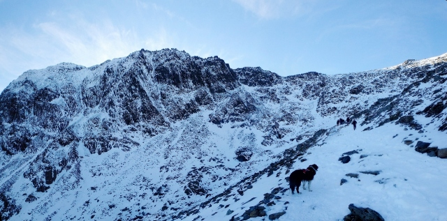 On the PYG Track above Glaslyn