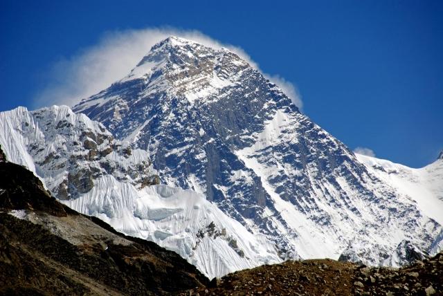 …. looking just a little bit like Everest!
