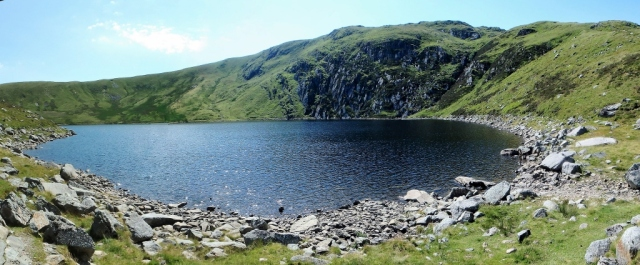 Melynllyn in summer ….