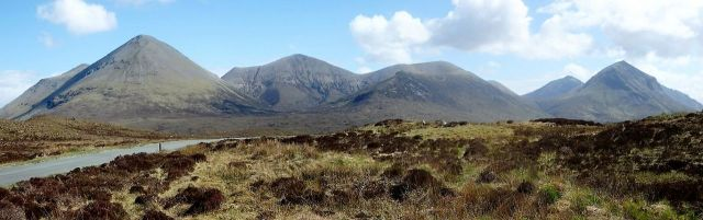 The Northern Hills of the Red Cuillin